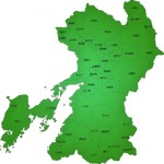 熊本の地図